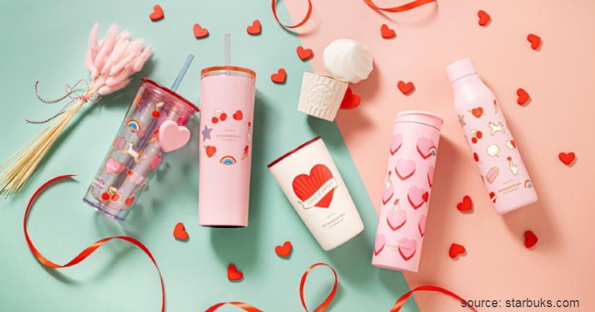 Tumbler Starbucks Valentine s Day Series 2020 - Tumbler Starbucks Paling Hits dan Paling Banyak Dicari 2020