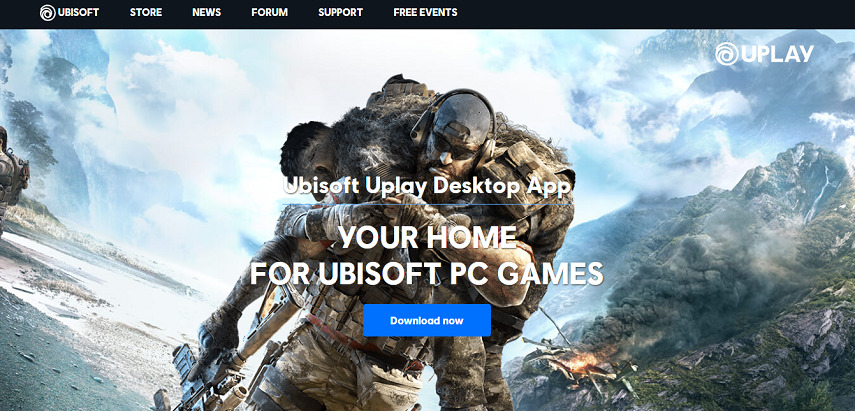 Ubisoft Uplay - 15 Situs Download Game PC Dari Game Lawas hingga Game Indie