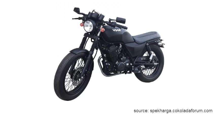 Viar Vintech - Rp22 Juta-an - Motor Retro Modern dan Klasik Terbaru 2020
