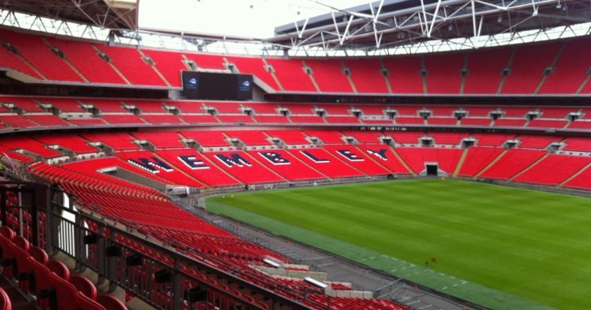 Wembley Stadium Inggris - 9 Stadion Sepak Bola Terbesar di Dunia
