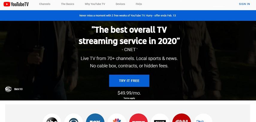 Youtube TV - Daftar Situs Nonton Streaming Liga Jerman Bundesliga 2020