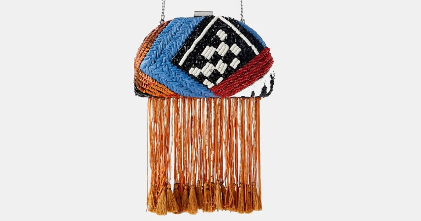 ZARA Beaded Crossbody Minaudiere With Fringing - Tren Tas Wanita Terbaru 2020 Paling Hits