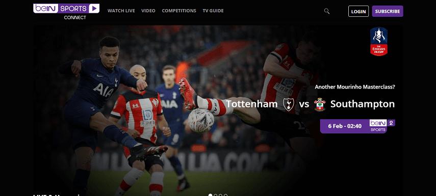 beIN Sports Connect - Daftar Situs Nonton Streaming Liga Prancis Terbaru 2020