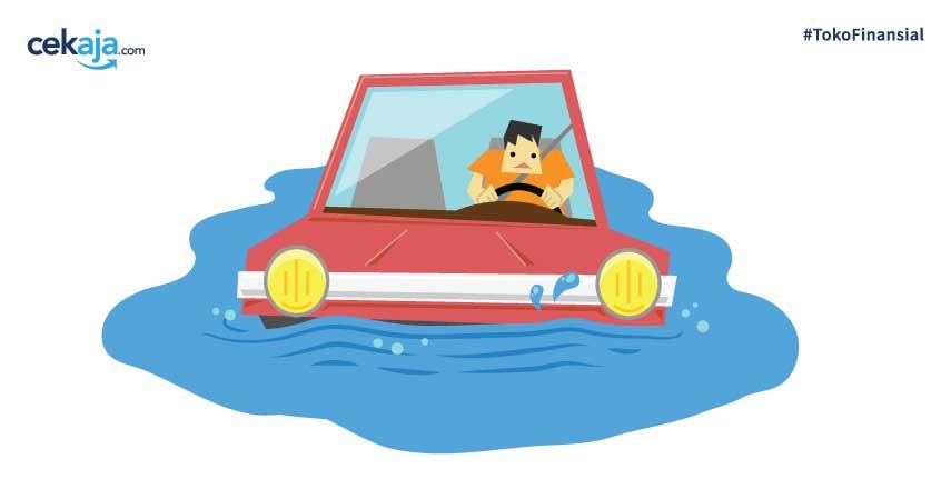 Kebanjiran? Berikut Asuransi Kendaraan Bermotor yang Siap Mengcover