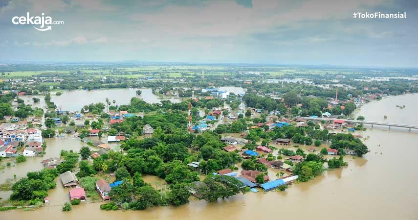 manfaat asuransi pada bencana alam