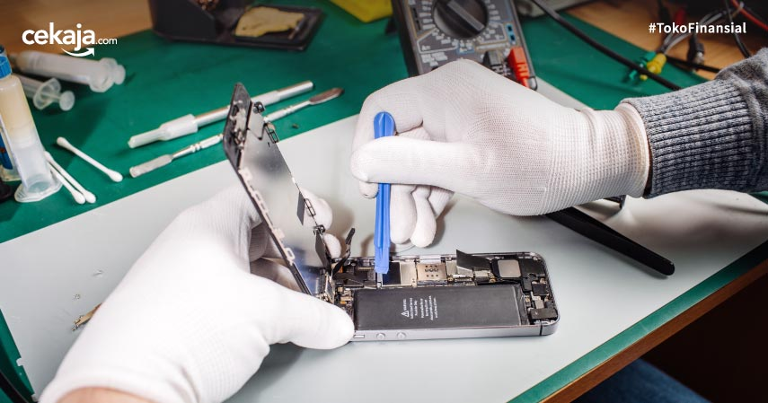 Tips Mengatasi LCD HP Rusak Mulai dari Bergaris hingga Muncul Bercak