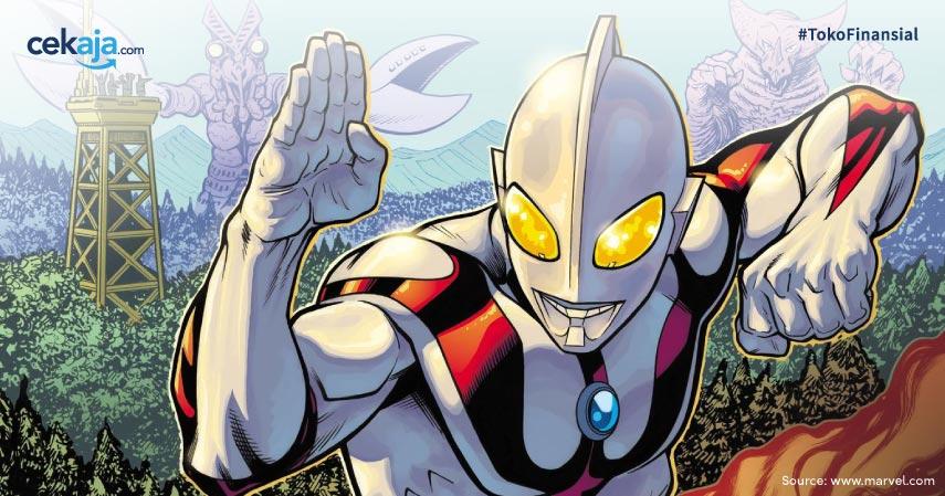 Tahun Ini Ultraman Gabung Jadi Keluarga Marvel