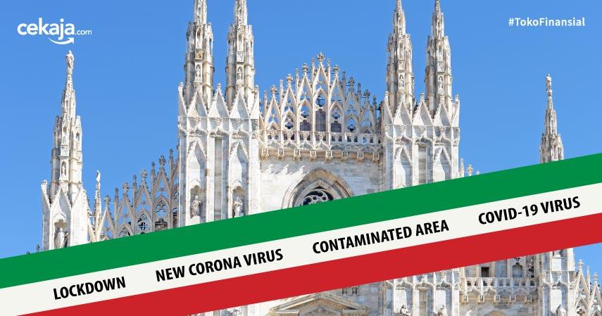 Korban Virus Corona Tembus 9.000 Orang, Italia Di-Lockdown!