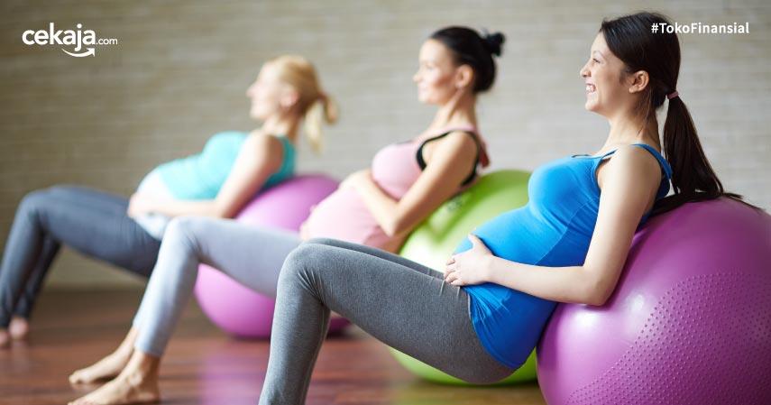 gerakan senam hamil