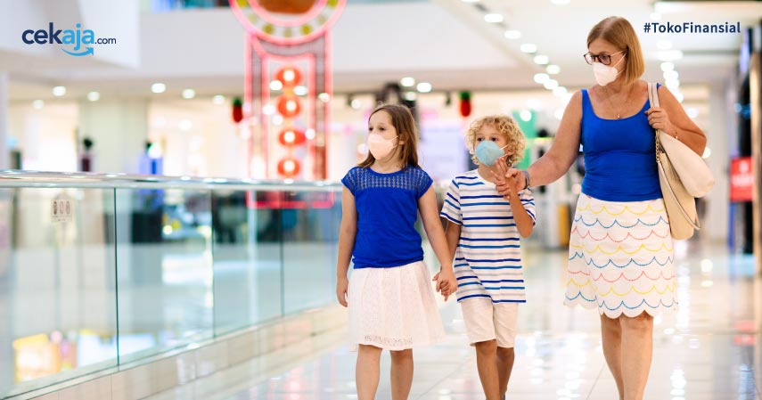 Berikut Cara Menghindari Virus Corona di Pusat Perbelanjaan