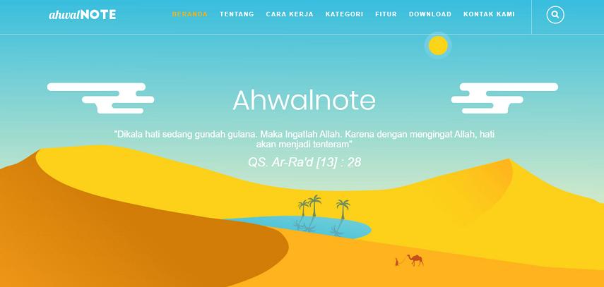 Ahwal Note - 8 Situs dan Aplikasi Curhat Online Terbaik