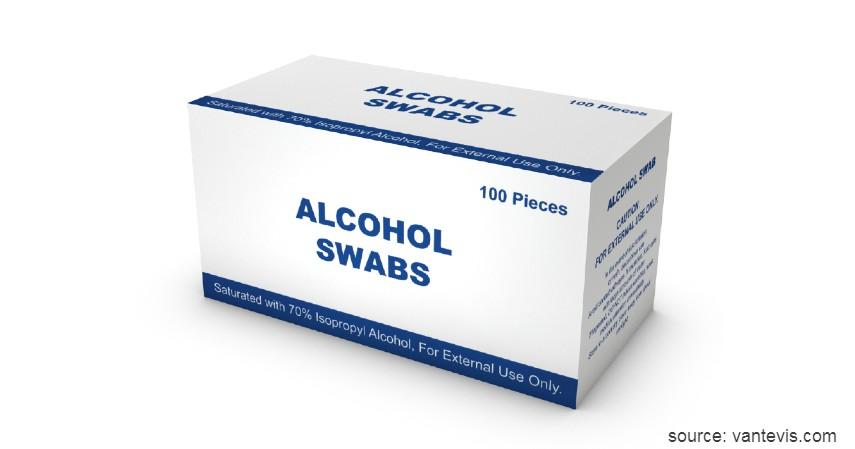 Alcohol swab - Selain Masker Please Jangan Timbun Alat-Alat Kesehatan Ini