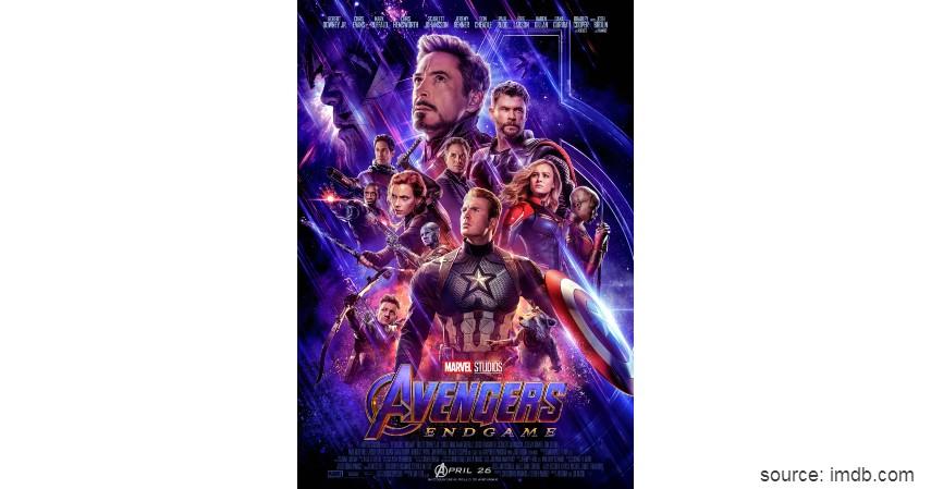 Avengers End Game - Film Hollywood dengan Pendapatan Terbesar Sepanjang Masa