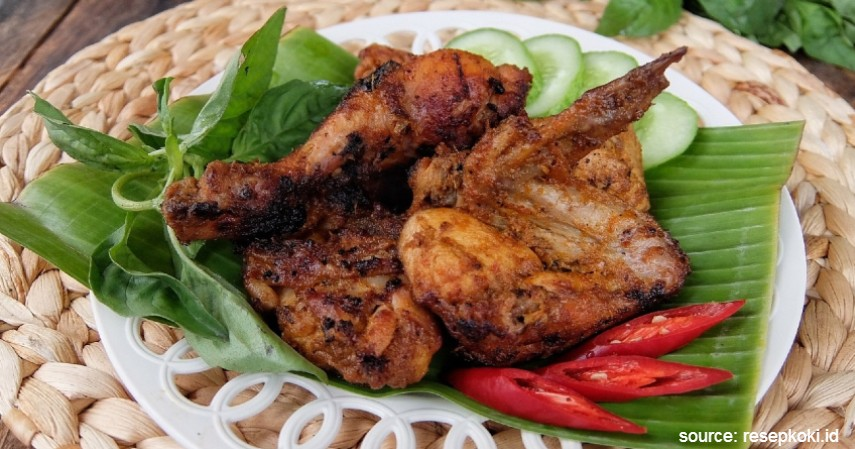 Ayam Bakar Padang - 20 Resep Masakan Padang Paling Populer Enak dan Mudah