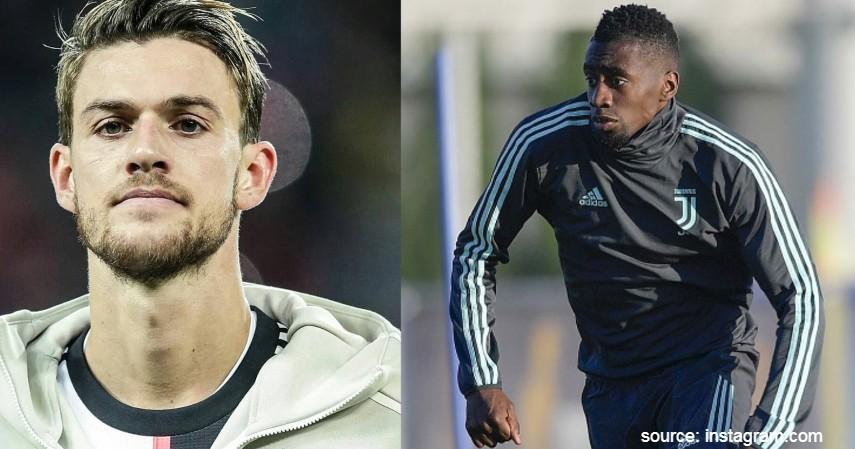 Daniele Rugani dan Blaise Matuidi Juventus