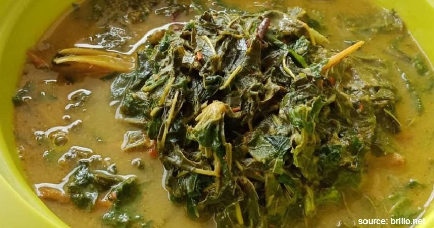 Gulai Daun Singkong - 20 Resep Masakan Padang Paling Populer Enak dan Mudah