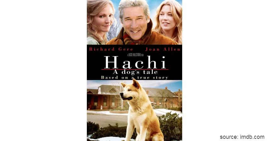 Hachi A Dogs Tale - Rekomendasi 6 Film Tentang Persahabatan dengan Hewan