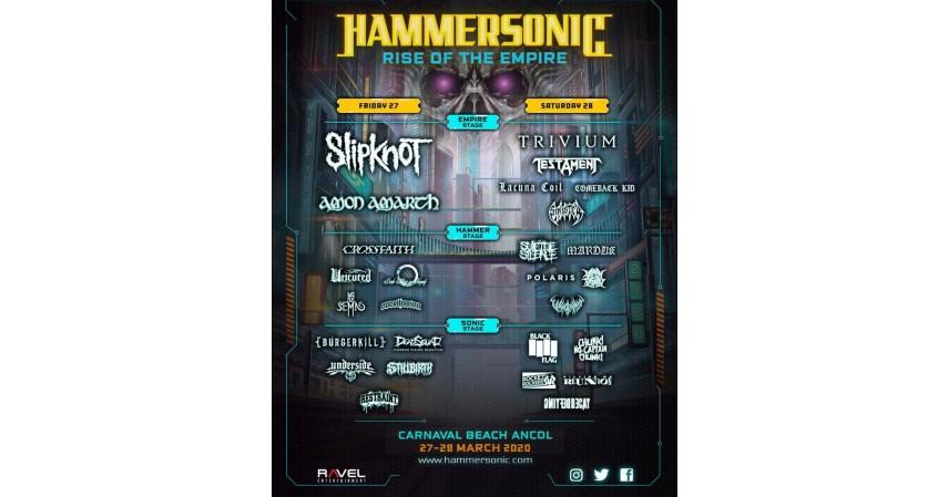 Hammersonic - Menelisik 9 Event Besar yang Ditunda karena Corona