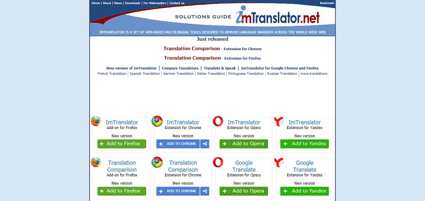 IMTranslator - 8 Situs Translate Terbaik dan Paling Akurat