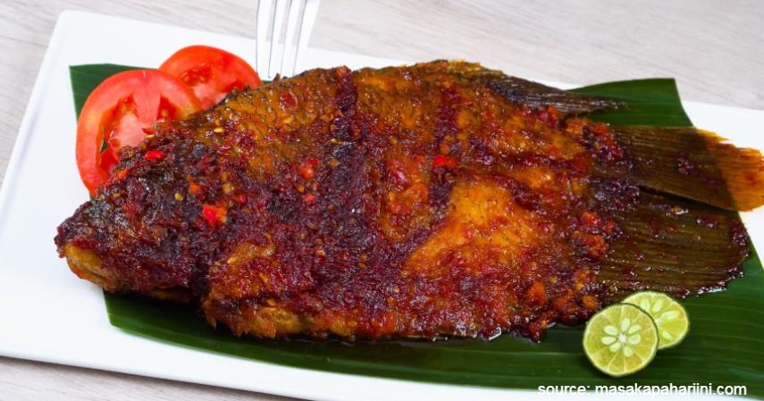 Ikan Bakar Padang - 20 Resep Masakan Padang Paling Populer Enak dan Mudah