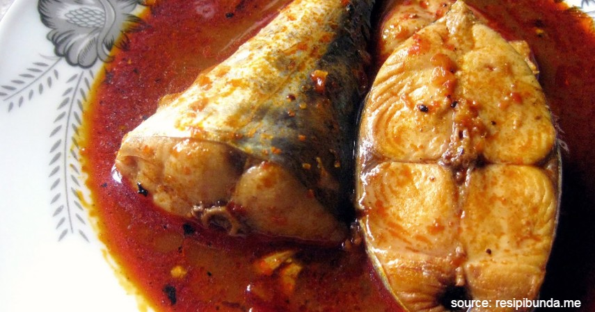 Ikan Tenggiri Asam Pedas - 20 Resep Masakan Padang Paling Populer Enak dan Mudah
