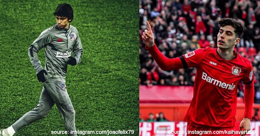 Joao Felix dan Kai Havertz - Pemain Sepak Bola U-20 dengan Bayaran Termahal di Dunia