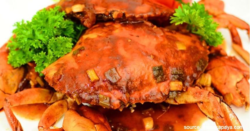 Kepiting Saos Padang - 20 Resep Masakan Padang Paling Populer Enak dan Mudah