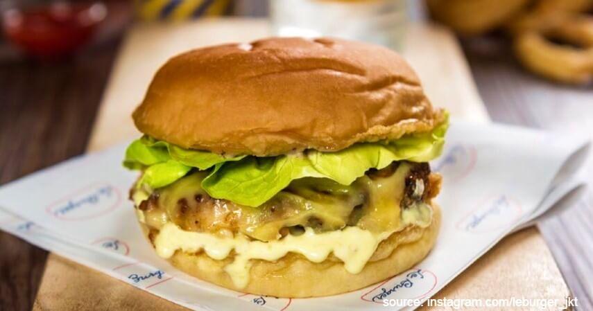Le Burger - Tempat Burger Terbaik di Jakarta dengan Cita Rasa Lezat