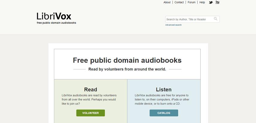 LibriVox - Cara Asik Baca Buku Di Situs Baca Buku Online