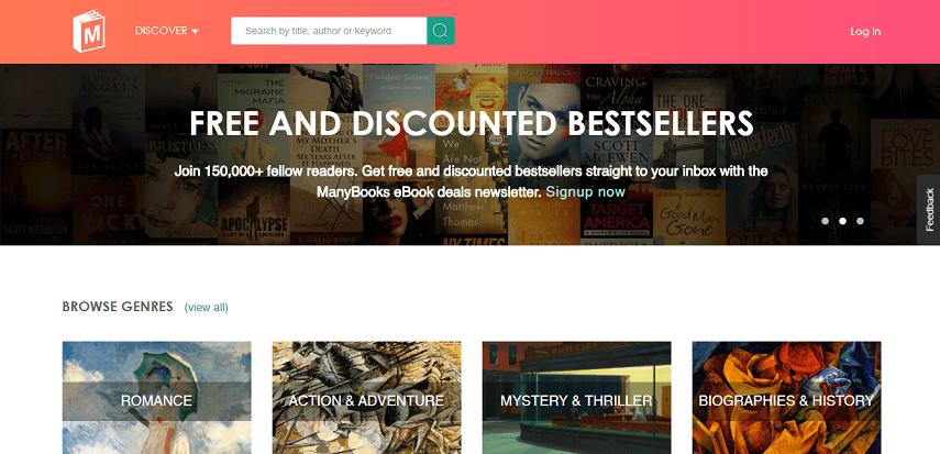 Manybooks - Cara Asik Baca Buku Di Situs Baca Buku Online