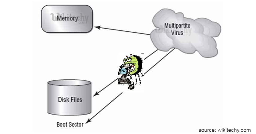 Multipartite Virus - Kenali 10 Jenis Virus Komputer beserta Cara Pencegahannya
