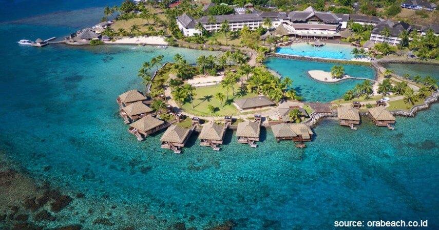 Ora Beach Eco Resort Maluku - Resort Penginapan Terapung di Indonesia Beserta Harganya