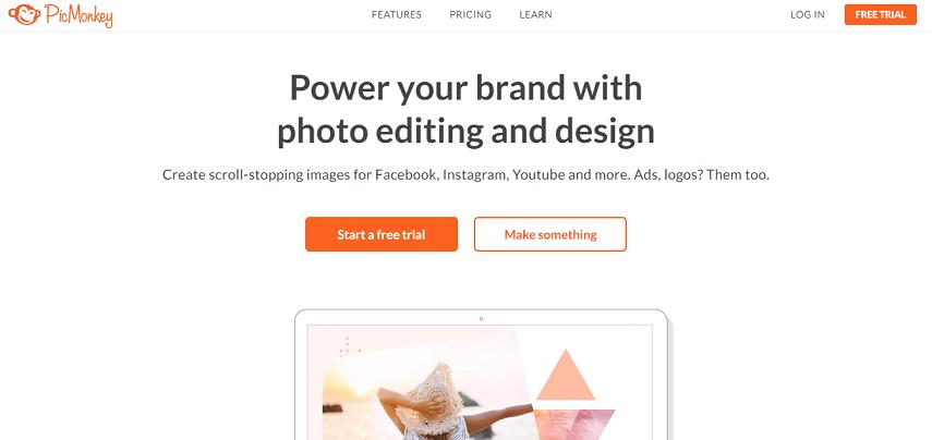 PicMonkey - 7 Situs Edit Foto Online Terbaik Bikin Makin Aesthetic