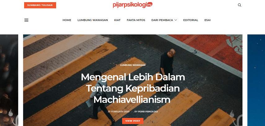 Pijar Psikologi - 8 Situs dan Aplikasi Curhat Online Terbaik