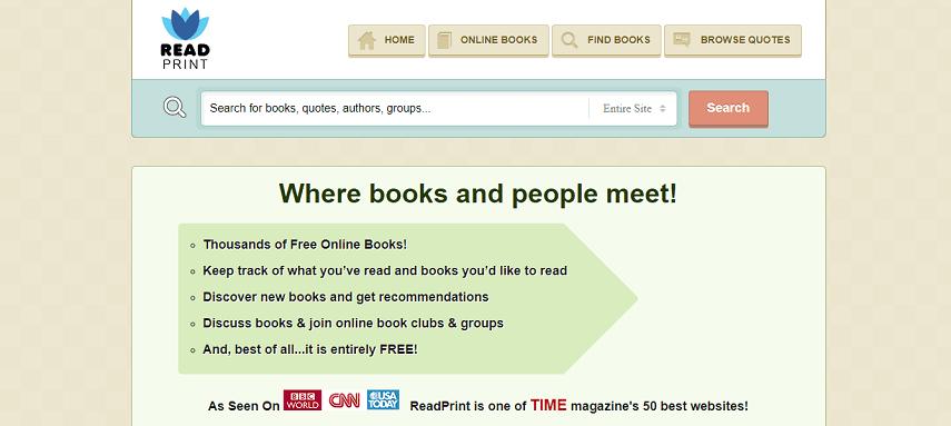 Readprint - Cara Asik Baca Buku Di Situs Baca Buku Online