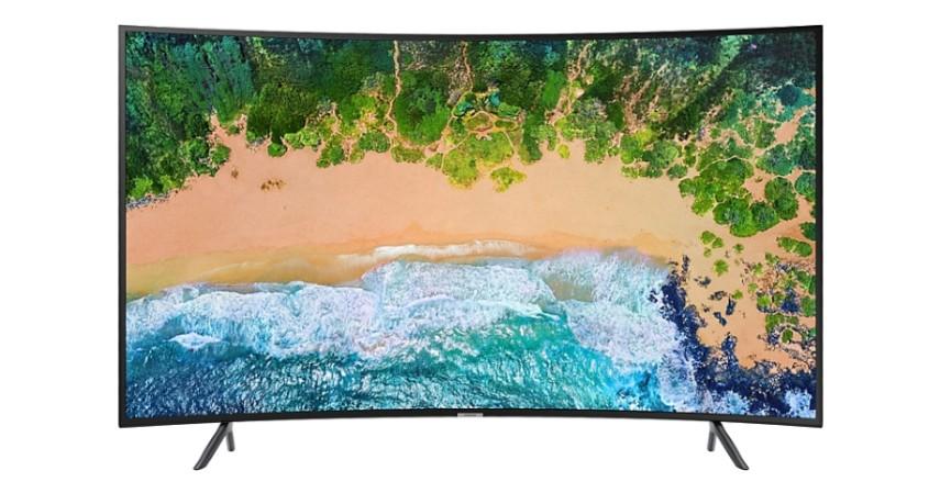 Samsung Class NU7300 Curved Smart 4K UHD TV - 10 Rekomendasi Smart TV Terbaik 2020