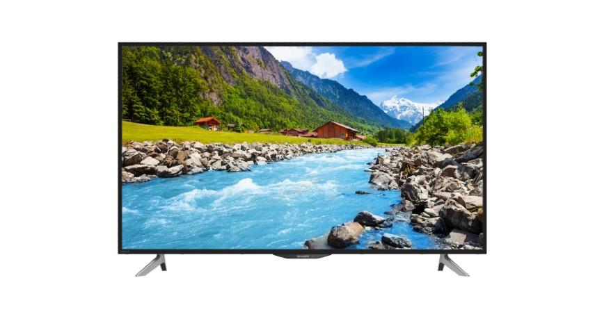 Sharp AQUOS 4K Ultra-HDR Easy Smart 50 LC-50UA6500X - 10 Rekomendasi Smart TV Terbaik 2020