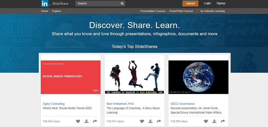 Slideshare - Cara Asik Baca Buku Di Situs Baca Buku Online