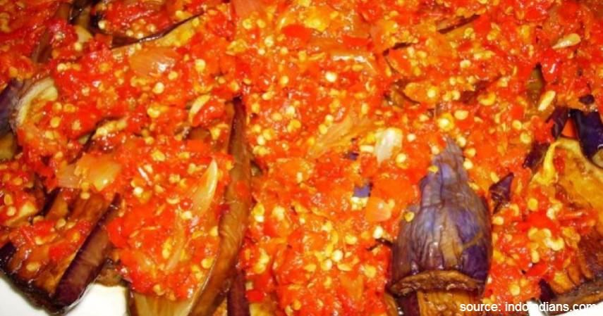 Terong Balado - 20 Resep Masakan Padang Paling Populer Enak dan Mudah