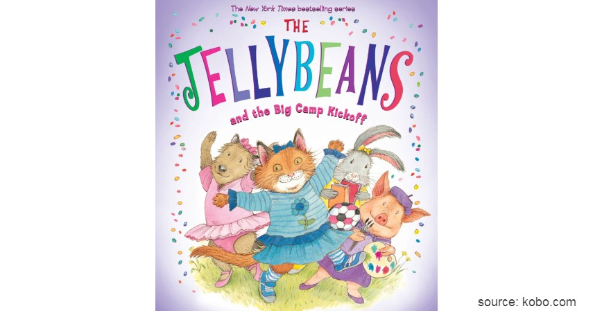 The JellyBeans and The Big Camp Kickoff - 8 Judul Buku Edukasi untuk Balita yang Seru dan Menyenangkan