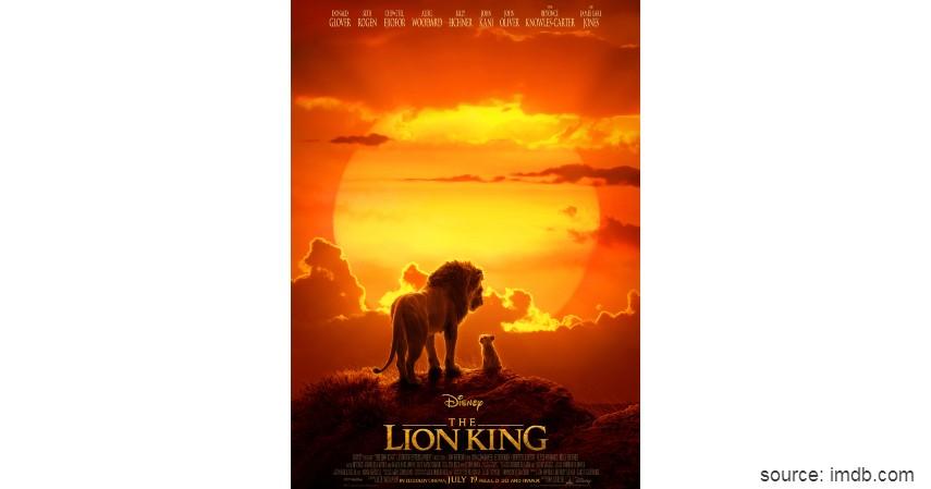 The Lion King - Film Hollywood dengan Pendapatan Terbesar Sepanjang Masa