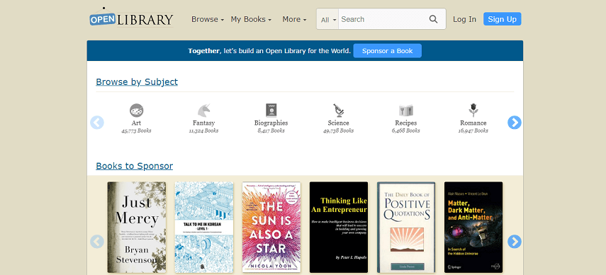 The Open Library - Cara Asik Baca Buku Di Situs Baca Buku Online