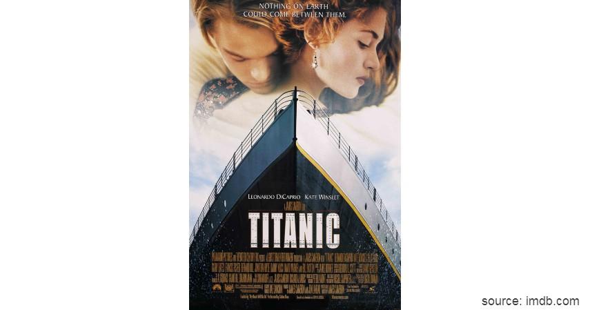 Titanic - Film Hollywood dengan Pendapatan Terbesar Sepanjang Masa