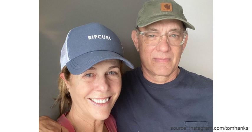 Tom Hanks dan Rita Wilson - Punya Duit Banyak Gak Bikin Deretan Artis Ini Kebal Corona