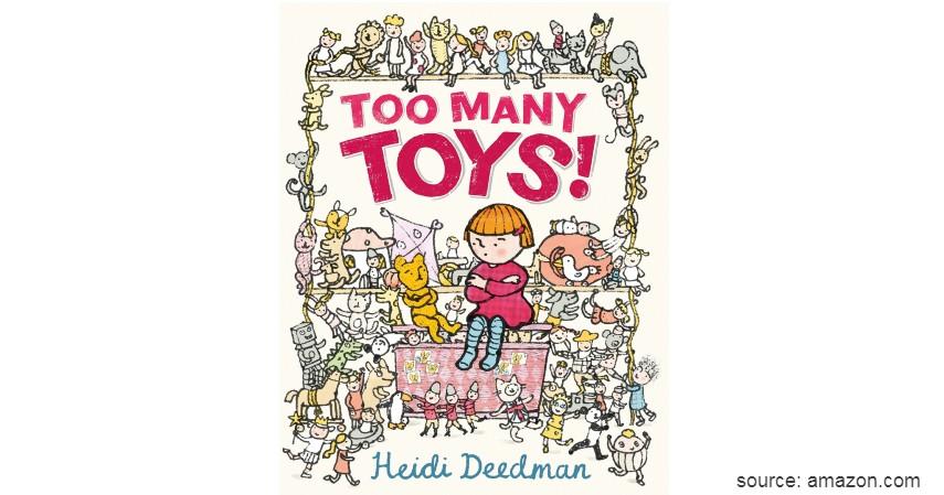 Too Many Toys - 8 Judul Buku Edukasi untuk Balita yang Seru dan Menyenangkan