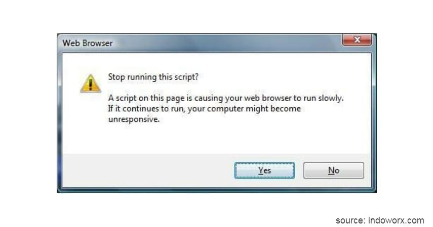 Web Scripting Virus - Kenali 10 Jenis Virus Komputer beserta Cara Pencegahannya