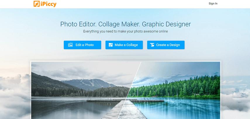 iPiccy - 7 Situs Edit Foto Online Terbaik Bikin Makin Aesthetic