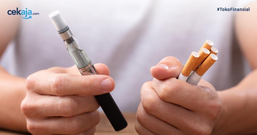 Perbedaan Kandungan Zat di Rokok dan Vape, Manakah yang Lebih Aman?