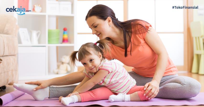 Tips Berolahraga Bersama Si Kecil Agar Tetap Bugar Saat Puasa