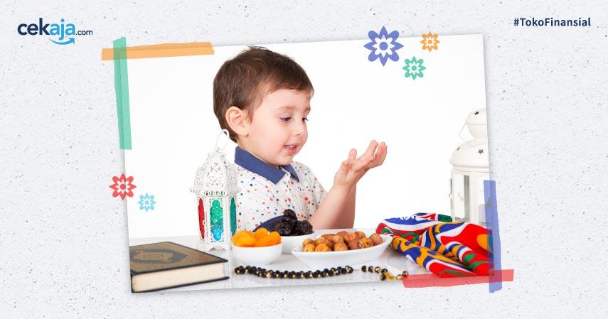 8 Cara Mengajarkan Anak Puasa